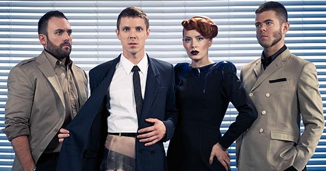 """Harte """"Night Work"""" mit den Scissor Sisters (Bild: Universal Music Austria)"""