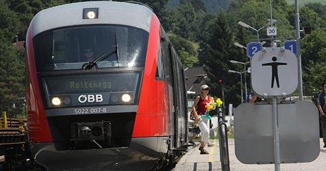 Grüne befürchten Sterben der Regionalbahnen (Bild: Chris Koller)