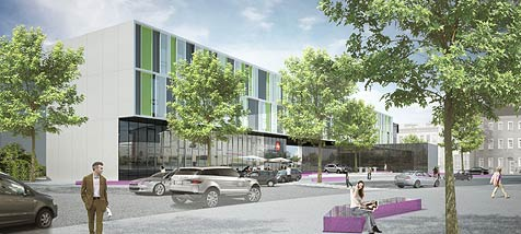 Salzburger LKH bekommt modernes Kinderzentrum (Bild: Salzburger Landeskliniken)