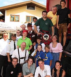 Nach drei Jahren Pause wieder ein Dorffest in Bruck (Bild: Niki Faistauer)