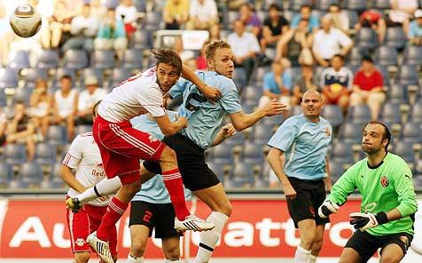 Salzburg holt lockeres 5:0 gegen HB Torshavn (Bild: APA/KRUGFOTO/Krug Daniel jun./KRUGFOTO/Krug Daniel jun.)