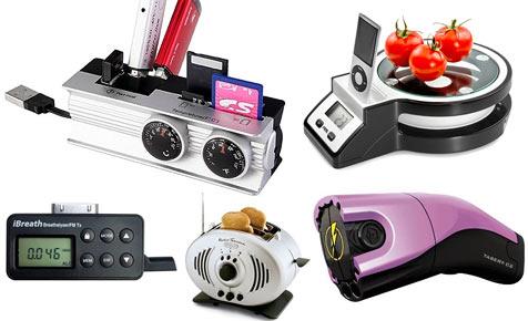 Das sind die neun schrägsten Kombi-Gadgets