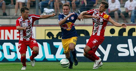 Bullen spielen zum Auftakt gegen Kapfenberg nur 0:0 (Bild: APA/MARKUS LEODOLTER)