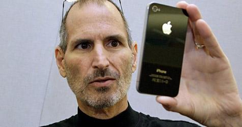 """Neuer Ärger für Jobs in Apples """"Antennagate"""" (Bild: EPA)"""