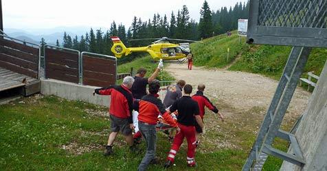 40-Jähriger bei Sturz von Sessellift verletzt (Bild: ÖAMTC)