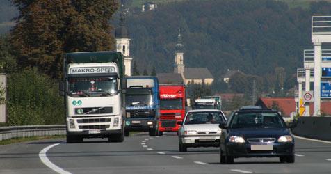 Mautfreie Stadtautobahn in Salzburg gefordert (Bild: Wolfgang Weber)