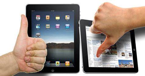 Gute Gründe, die für und gegen Apples iPad sprechen (Bild: © 2010 Photos.com, a division of Getty Images/ Apple)