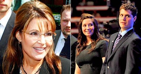 Sarah Palin ist gegen die Hochzeit ihrer Tochter Bristol