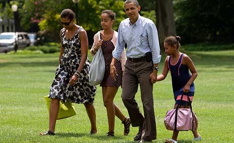 Obama-Töchter sind die sichersten Babysitter der Welt