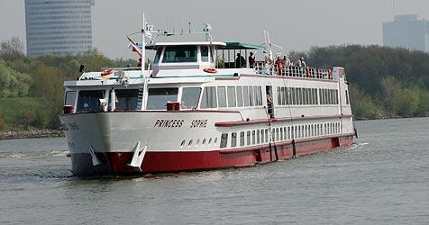Rauferei auf  Donau-Kreuzfahrtschiff bei Asbach (Bild: Krone Archiv)