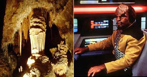 Australische Höhle bietet klingonische Führung an (Bild: WikiPedia, AP Photo)