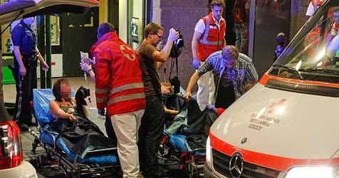 Feuerunfall am Rudolfskai: Opfer weiter im Tiefschlaf (Bild: Markus Tschepp)