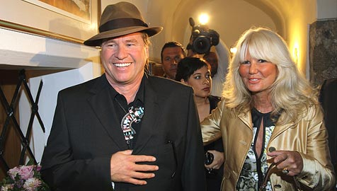 US-Schauspielstar Val Kilmer zu Besuch in Salzburg (Bild: APA/FRANZ NEUMAYR)