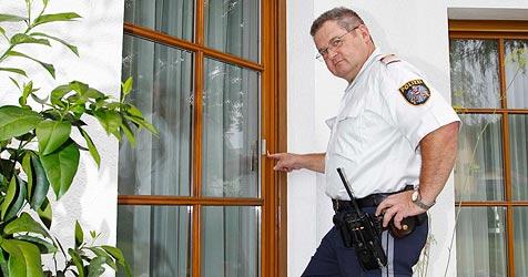 Fensterbohrer-Bande narrt die Polizei im Flachgau (Bild: Markus Tschepp)