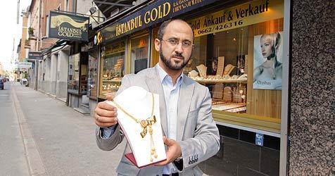 Salzburger Juwelier schon zum 18. Mal Ziel von Verbrechen (Bild: Markus Tschepp)