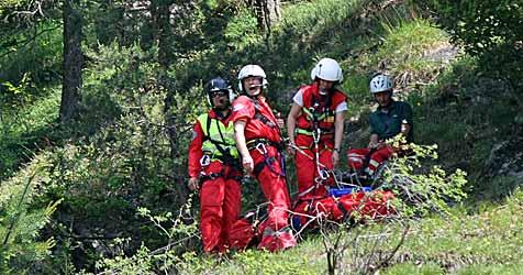 Ein Toter und zwei Verletzte in den Bergen (Bild: Sepp Pail)
