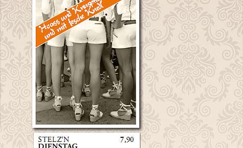 Kuriose Debatte um Stelzen-Werbung von Salzburger Wirt (Bild: Rossbraeu.com)