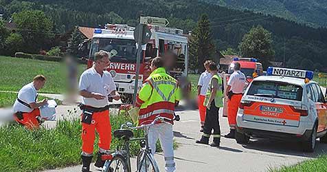 Salzburgerin bei Radausflug in Bayern getötet (Bild: Kronen Zeitung)