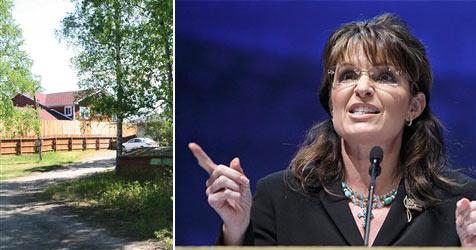 Sarah Palin weiter im Krieg mit ihrem neuen Nachbarn