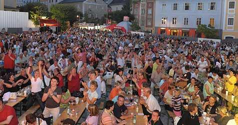 """50 Acts begeistern beim """"Krone""""-Fest auch die Jugend (Bild: Johannes Markovsky)"""