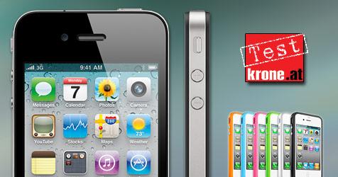 "Wenn es auch mal ""bumpern"" darf: Apples iPhone 4 (Bild: Apple)"