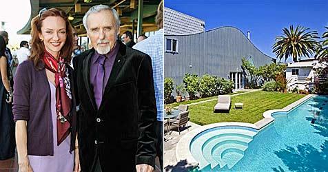 Dennis Hoppers Ex-Frau will nicht ausziehen