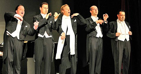 "Musical ""Comedian  Harmonists"" bei neuem Festival (Bild: Fotostudio Semrad)"