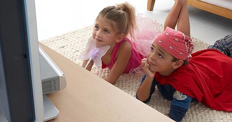 Wie viel Fernsehen ist gut für dein Kind? (Bild: 2010 Photos.com, a division of Getty Images)