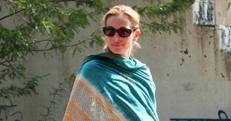 Hindu Julia Roberts - Werbe-Gag oder echtes Bekenntnis?