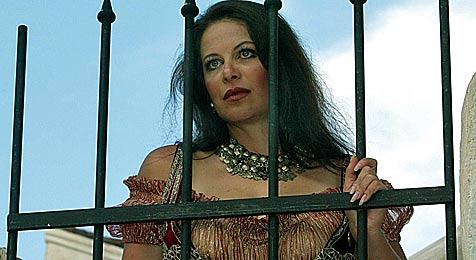 Natalia Ushakova singt in Langenlois Solo-Open-Air (Bild: APA/Herbert Pfarrhofer)