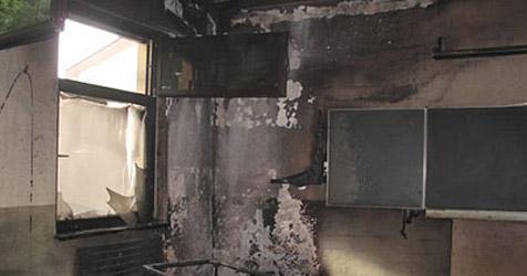 Schüler nach Brand in Mauerkirchen ausgeforscht (Bild: FF Mauerkirchen)