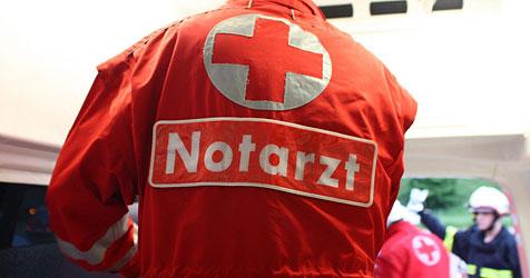 Drei Mitarbeiter der Stadtwache mit Böller attackiert (Bild: salzi.at)