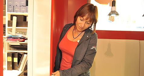 Alarmanlage verjagt Juwelier-Einbrecher in Haid (Bild: Horst Einöder)