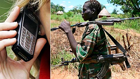 Auch an unseren Handys klebt afrikanisches Blut