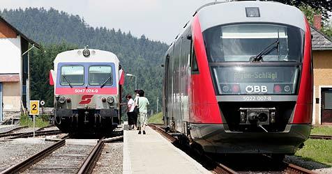 Mühlkreisbahn kann bis zu 23 Minuten schneller werden (Bild: rubra)