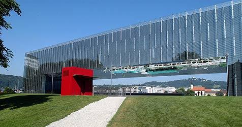 Kunstmuseum Lentos wird für eine Nacht zum Hotel (Bild: Krone Archiv)