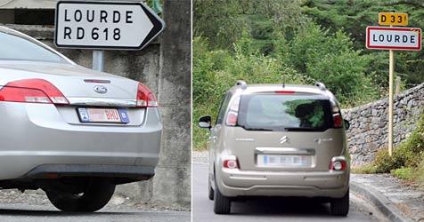 """Navi führt zur falschen Jungfrau von """"Lourde"""" (Bild: AFP)"""