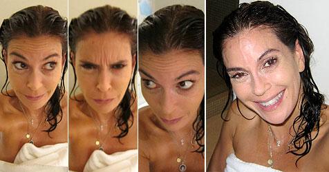"""Teri Hatcher zeigt mit privaten Fotos: """"Nehme kein Botox"""" (Bild: Facebook/Teri Hatcher)"""