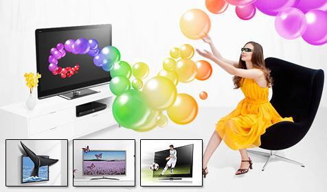 Alles über 3D: Prinzip, Kosten, TV, Filme und Spiele (Bild: Sharp, Samsung, Sony)
