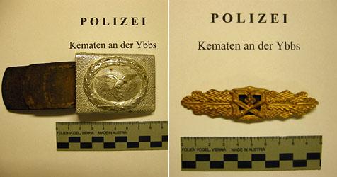 """Museumsstücke von """"Sammler""""-Duo gestohlen (Bild: Polizei)"""