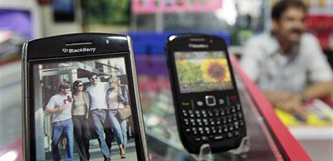 Indien verlängert Frist im Streit um Blackberry-Dienste