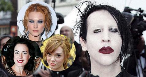US-Schock-Rocker Marilyn Manson ist wieder zu haben (Bild: AP, EPA)