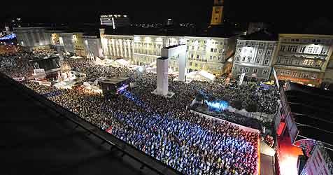 Zum Jubiläum jubelten in Linz so viele wie noch nie (Bild: Koller)