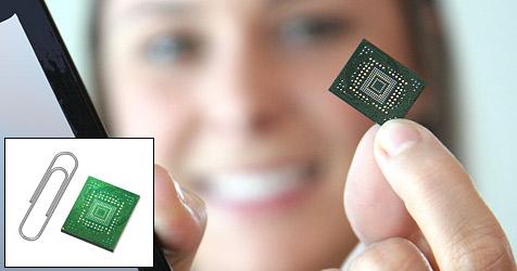 SanDisk stellt weltweit kleinste 64-GB-SSD vor (Bild: SanDisk)