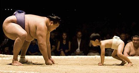 Japanische Sumo-Ringer schwören auf Apples iPad