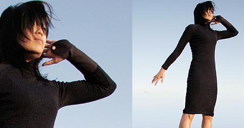 """""""M-Dress"""" vereint Kleid, Handy und Gestensteuerung (Bild: cutecircuit.com)"""