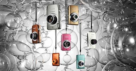 Canon feiert 10. Ixus-Geburtstag mit neuem Modell