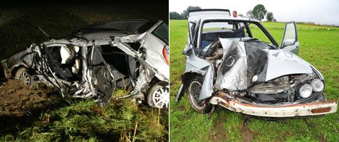 Unfallserie fordert junges Todesopfer und zwölf Verletzte (Bild: Feuerwehr Rohr; Foto Kerschi)