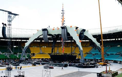 """Bühne der """"360 Grad""""-Tour von U2 steht zum Verkauf (Bild: Andreas Graf)"""