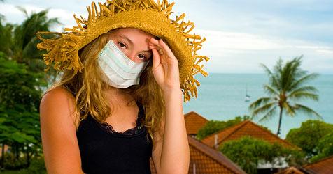 Krank sein auf Reisen - wie man sich schützt (Bild: © 2010 Photos.com, a division of Getty Images)